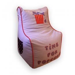Purple Pop Corn -Bean Chair Cover