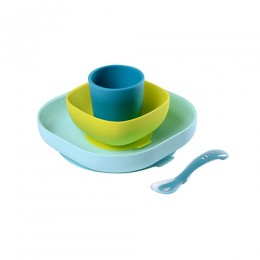 Silicone Meal Set - Blue