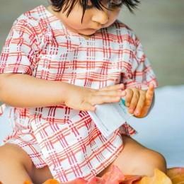 Organic Cotton Manjha Bag - Angarakha and Pyjama Pants Set
