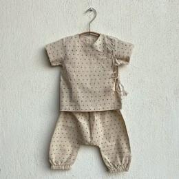 Unisex Organic Indigo Radiana Angarakha + Matching Pants
