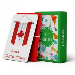 A-Z Flashcards - Countries