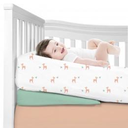 Baby Deer Organic Crib Sheet