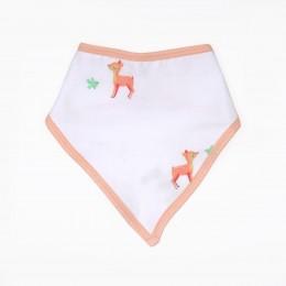 Baby Deers Organic Bandana Bibs - 2 pack