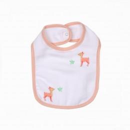 Baby Deers Organic Round Bibs - 2 pack