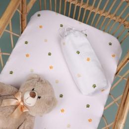 Baby Paws Organic Crib Sheet