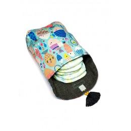 Diaper Tote Bag - 'Stroller' - Go Fish