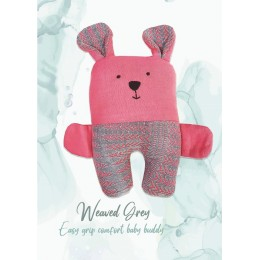 EASY GRIP PLUSH TOY - TED - WEAVED GREY
