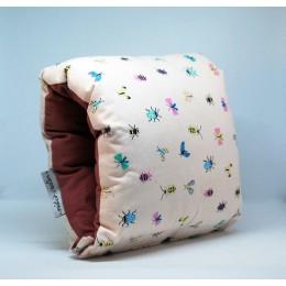 Nap: Nursing Arm Pillow - Butterfly with Deep Burgandy