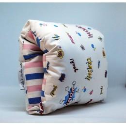 Nap: Nursing Arm Pillow - Retro Graphics with Stripes