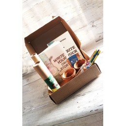 PLANTABLE PENS & PENCIL GIFT BOX - Gift Box Set (flat box)