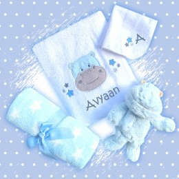 Cuddle Me - 4 pc Welcome Baby Hamper