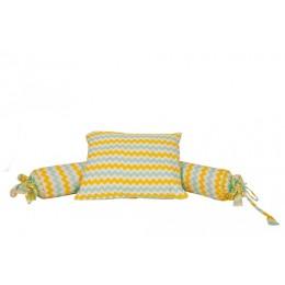 Elephant Parade Pillow Bolster Set