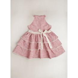 Athena Floral Print Dress
