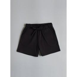 Rose Black Shorts