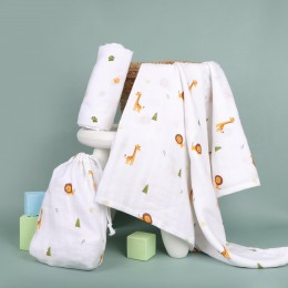 Forest Friends Organic Swaddle - 2 pack