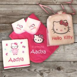 I love Kitty - 5 pc Baby Set