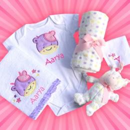 Little Treasure - 5 pc Welcome Baby Hamper