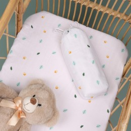 Nutty Nights Organic Crib Sheet