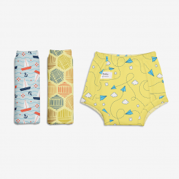 Padded Underwear (Potty Training Pants) - Explorer Collection