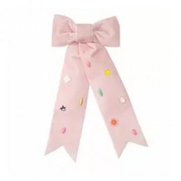 Pink Bow Hair Clip