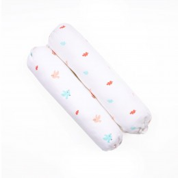 Pink Bunny Organic Bolsters - 2 pack