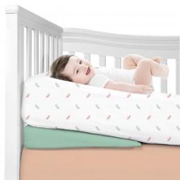 Sleepy Leaves Organic Crib Sheet