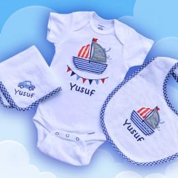 Transport theme Baby gift set