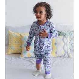 Whale Zippie in Orchid