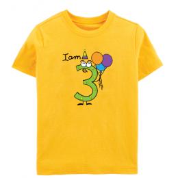 Birthday: I Am Three - Tee