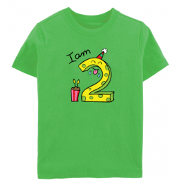 Birthday: I Am Two - Tee