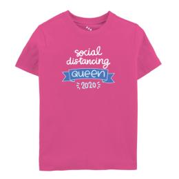 Social Distancing Queen 2021 - Tee