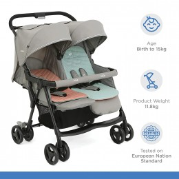 Aire Twin Stroller - Nectar & Mineral