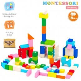 Alphabet Colorful 60 Blocks