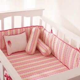 Alphabets Pillow/Bolster Set - Pink