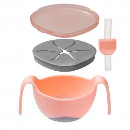 Bowl + Straw Set - Tutti Fruiti Light Pink