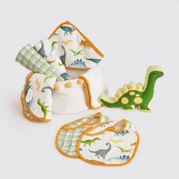 Bundle Of Love Organic Muslin Gift Hamper - Dinosaurs