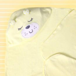 Cuddly Teddy - Yellow Hooded Towel