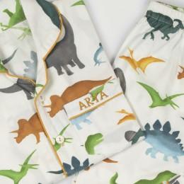 Dinosaurs Organic Pajama Set