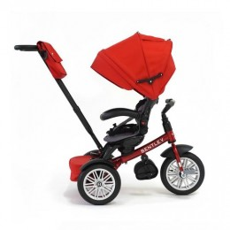 Dragon Red Trike Toddler Tricycle 6 in 1 Air Wheel Children Buggy Pram