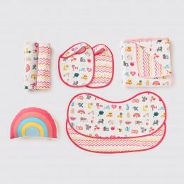 Favorite Essentials Organic Gift Hamper - Alphabet-Pink