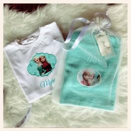 Frozen Tales - Towel n Tshirt Gift Set