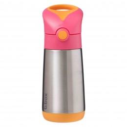 Insulated Sipper 350ml - Strawberry Shake PInk Orange