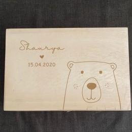 Keepsake Box - Bear