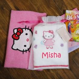 Kitty Love Pink - Towel n Room Mat