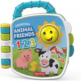 Plastic Laugh and Learn Counting Animal Friends Book