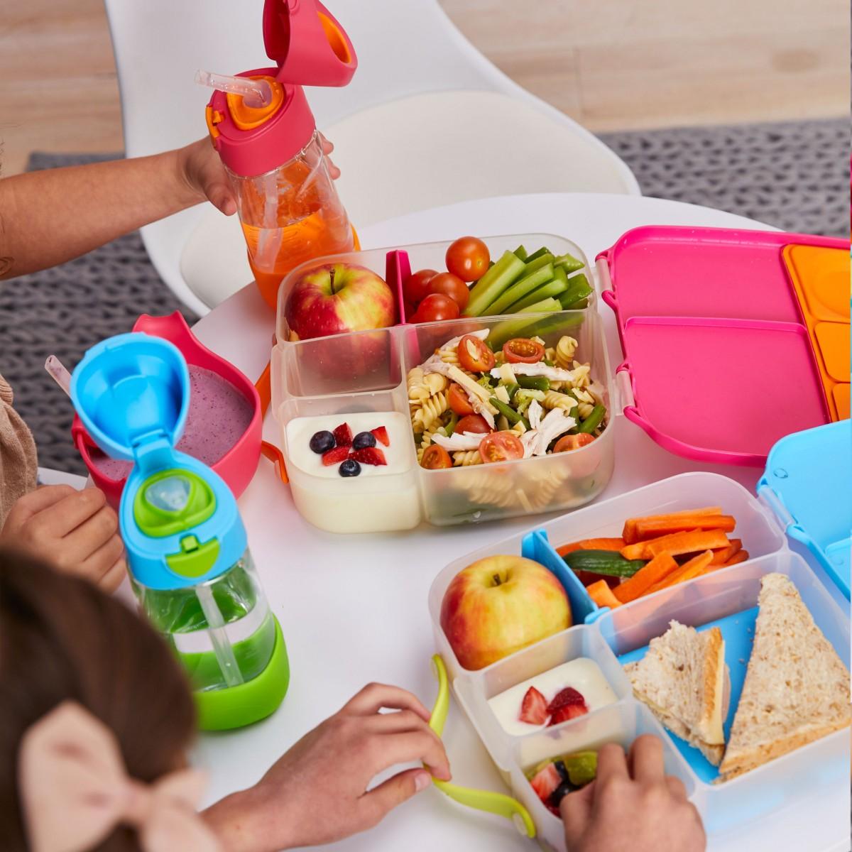 Lunch Box - Shake Pink Orange