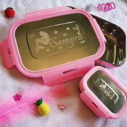 Mermaid Theme 2 - Pc Steel Tiffin Box Set