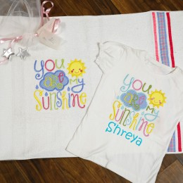 My sunshine - 2Pc T-Shirt n Mat