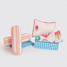 Night Night Crib Gift Set - Alphabets-Pink