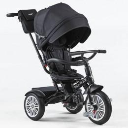 Onyx Black Trike Toddler Tricycle 6 in 1 Air Wheel Children Buggy Pram
